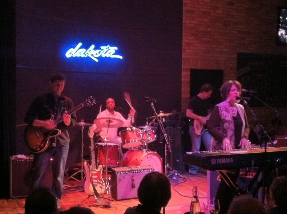 Kelley Hunt and band, Dakota Jazz Club, Minneapolis, MN, 2/16/13
