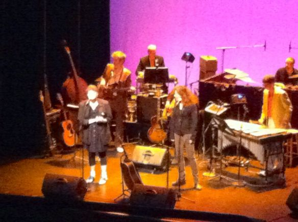 Kelly Hogan & Neko Case, Wits program, Fitzgerald Theater, St. Paul, MN, 5/10/13