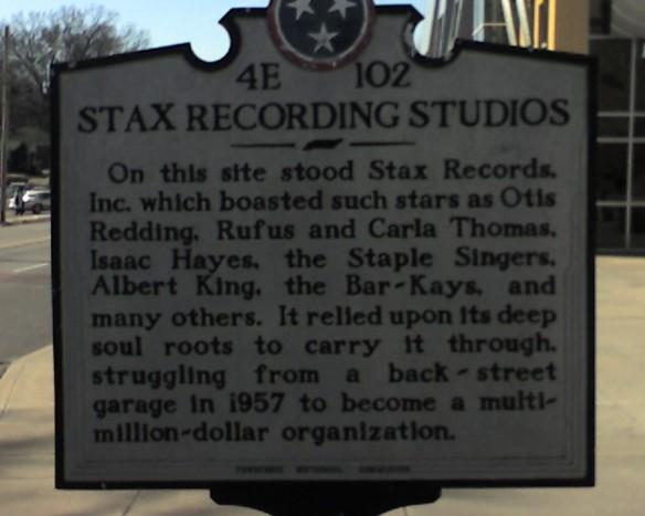 Stax Recording Studios, Memphis, TN
