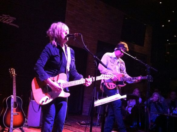 Lucinda Williams, with Doug Pettibone
