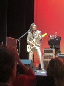 Eddie Perez on the Jazzmaster