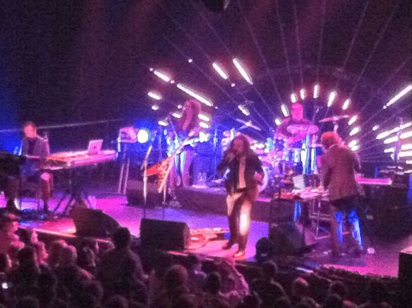 Jim James and band, First Avenue, Minneapolis, MN, 4/21/13