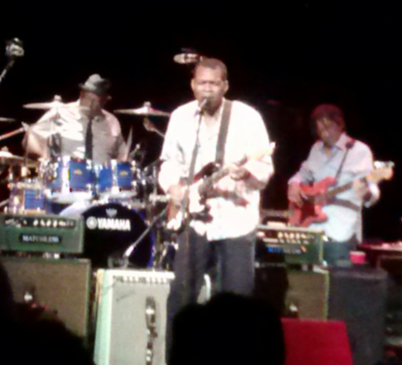Robert Cray Band rocks Arvada 8/21/13   Photo by Jenny-- thanks!