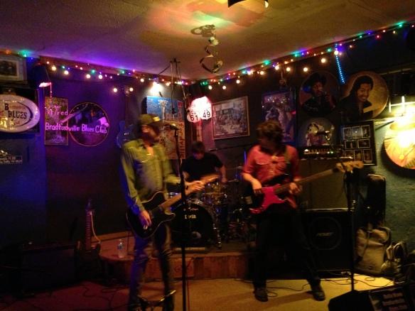 Dash Rip Rock at the Bradford Blues Club 11/30/13