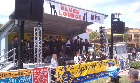 The kids are alright! Fletcher High School band rocks the Blues Lounge stage!