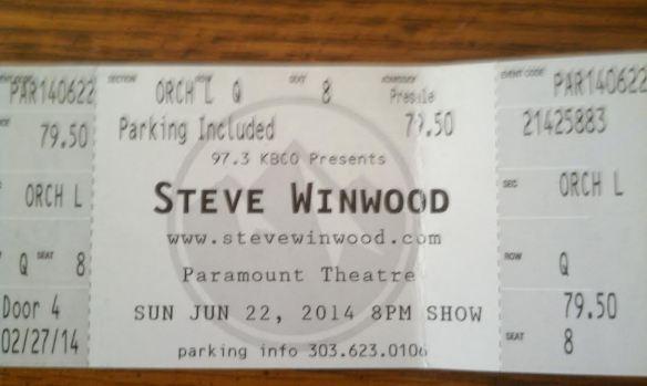 Winwood tix